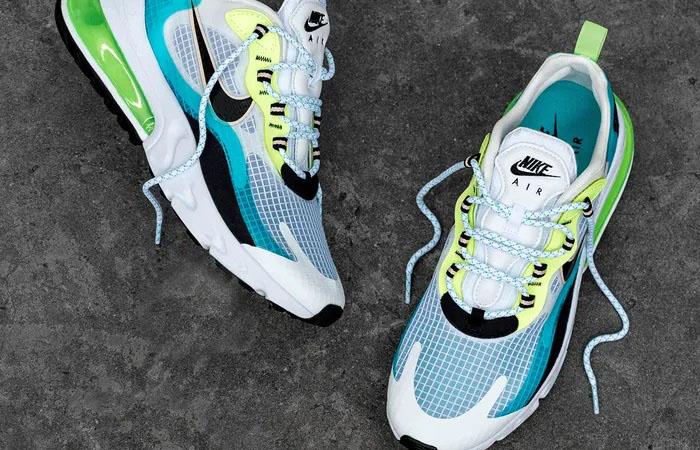 Nike Air Max 270 React Aqua Green CT1265-300 006