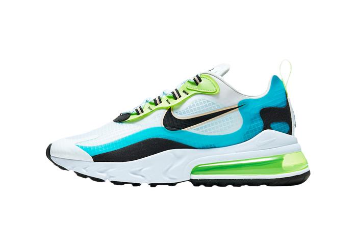 Nike Air Max 270 React Aqua Green CT1265-300 01