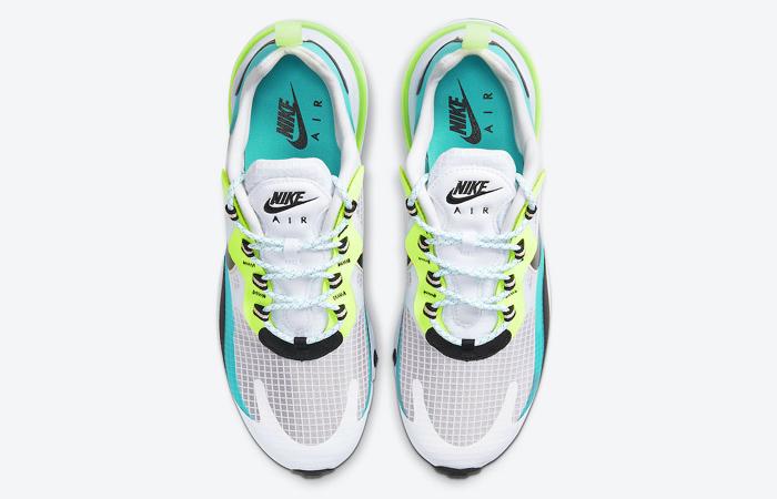 Nike Air Max 270 React Aqua Green CT1265-300 04
