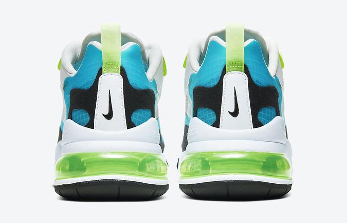 Nike Air Max 270 React Aqua Green CT1265-300 05