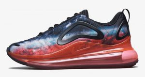Nike Air Max 720 Modified Them By An Outer Space Look