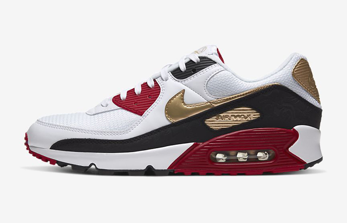 Nike Air Max 90 Chinese New Year Red Metallic Gold New At NikeUK! ft