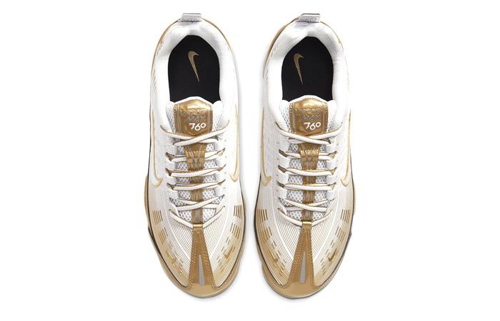 Nike Air VaporMax 360 Golden Metallic Silver CK9671-101 03
