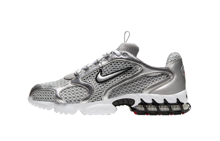 Nike Air Zoom Spiridon Cage 2 Metalic Silver CJ1288-001 01
