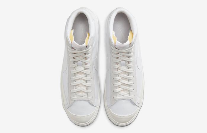 Nike Blazer Mid 77 Vintage Pure Platinum CW7583-100 04