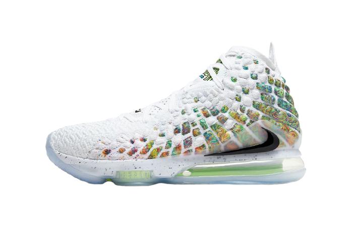 Nike LeBron 17 Command Force White BQ3177-100 01
