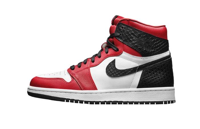 Nike Womens Air Jordan 1 High Satin Snake CD0461-601 01