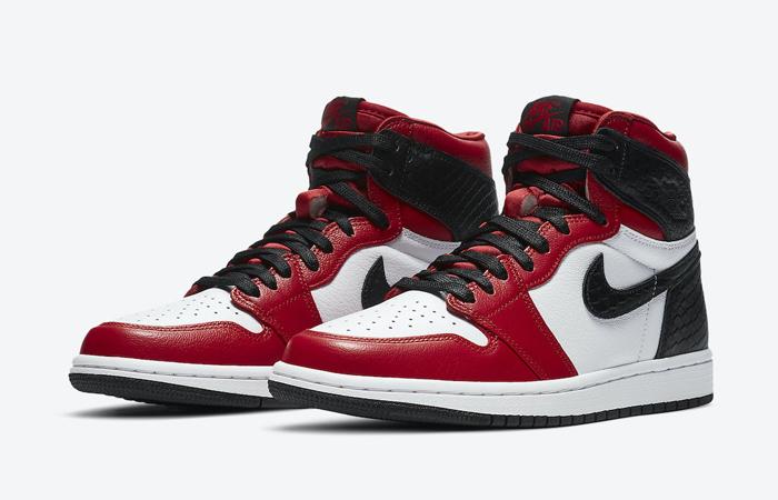 Nike Womens Air Jordan 1 High Satin Snake CD0461-601 02
