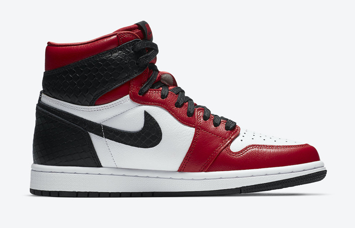 Nike Womens Air Jordan 1 High Satin Snake CD0461-601 03