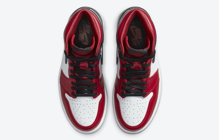 Nike Womens Air Jordan 1 High Satin Snake CD0461-601 04