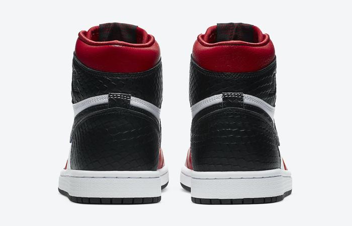 Nike Womens Air Jordan 1 High Satin Snake CD0461-601 05