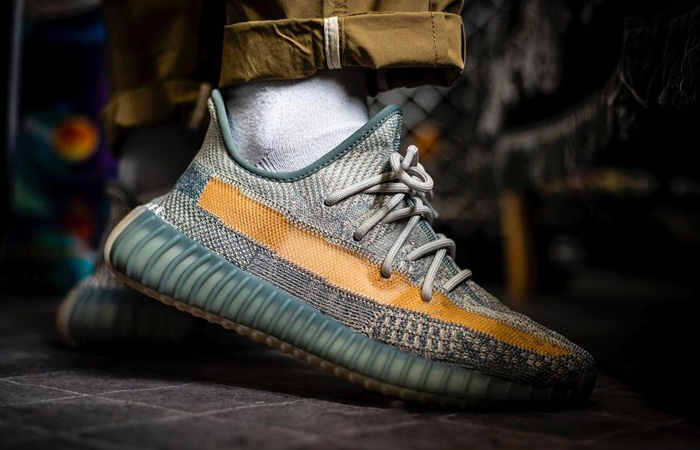 On Foot Look At The adidas Yeezy Boost 350 V2 Israfil ft