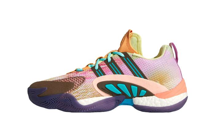 Pharrell Williams adidas Crazy BYW 2 Pink FU7369 01