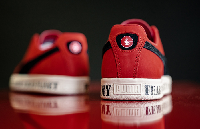 Public Enemy Puma Clyde 'Fear Of A Black Planet' Red 374539-01 04