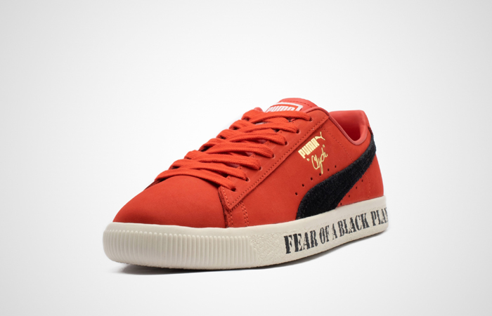 Public Enemy Puma Clyde 'Fear Of A Black Planet' Red 374539-01 05