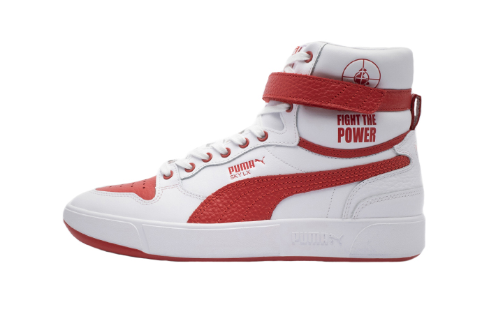 Public Enemy Puma Sky LX 'Fight The Power' White Red 374538-01 01