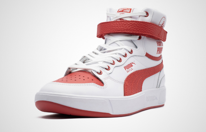 Public Enemy Puma Sky LX 'Fight The Power' White Red 374538-01 05