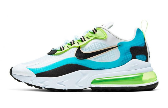 The Color Of Nike Air Max 270 React Aqua Green Is So Refreshing ft