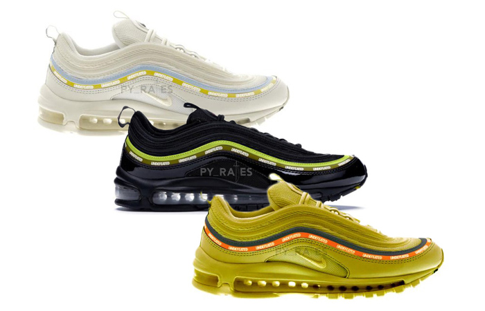 The UNDEFEATED Nike Air Max 97 Will Soon Makes A Drop With Three Colourways ft