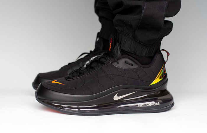 These Exclusive Images Of Nike MX 720-818 Magma Oranges Will Compel You To Buy One! ft