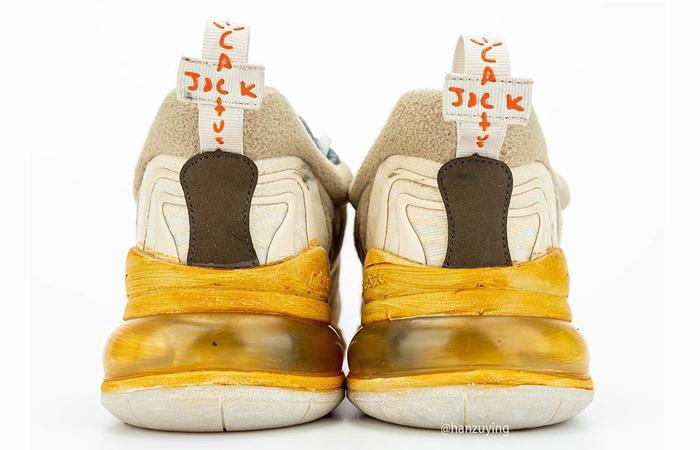 Travis Scott Nike Air Max 270 React Cactus Jack Brown CT2864-200 05