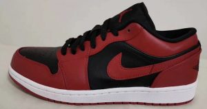 Your Very First Look At The Air Jordan 1 Low Black Varsity Red 01