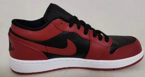 Your Very First Look At The Air Jordan 1 Low Black Varsity Red 02
