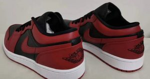 Your Very First Look At The Air Jordan 1 Low Black Varsity Red 03