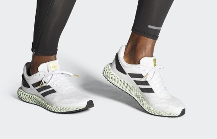 adidas Performance 4D Run 1.0 White Mint EG6264 on foot 01
