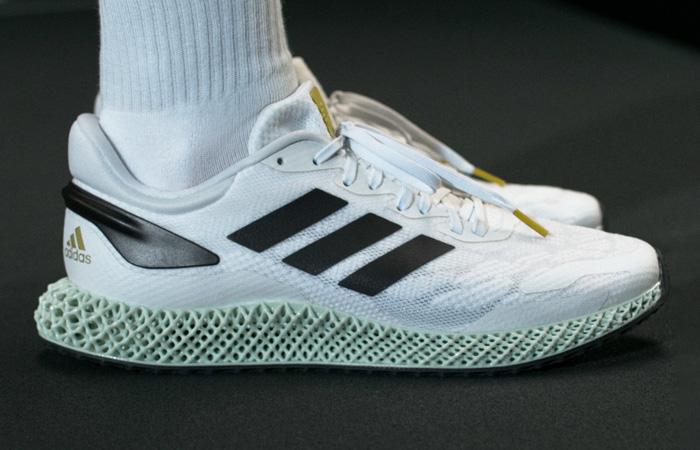 adidas Performance 4D Run 1.0 White Mint EG6264 on foot 02