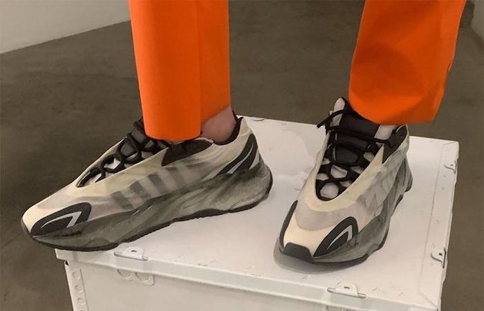 adidas Yeezy 700 MNVN Bone FY3729 on foot 01