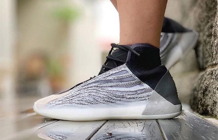 adidas Yeezy Basketball Quantum EG1535 on foot 01