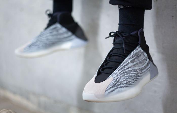 adidas Yeezy Basketball Quantum EG1535 on foot 02