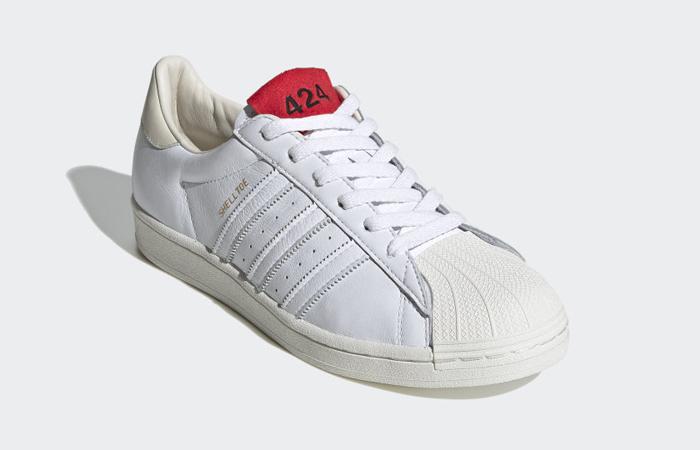 424 adidas Shelltoe Pure White FW7624 02