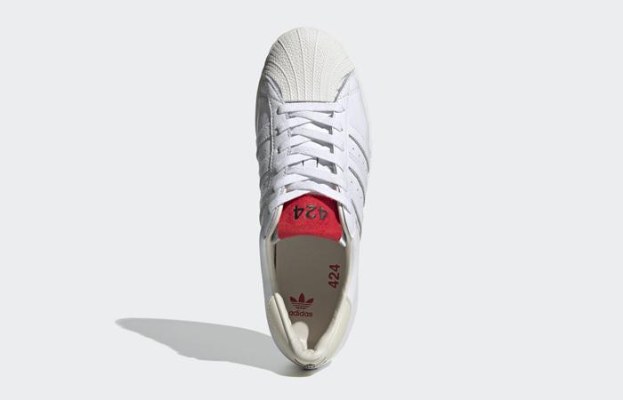 424 adidas Shelltoe Pure White FW7624 04
