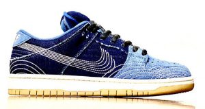 Another Nike SB Dunk Low With Two Shades Denim Got Unveiled!