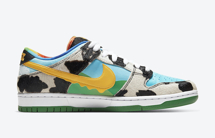 Ben & Jerry Nike SB Dunk Low Chunky Dunky Green Multi CU3244-100 03