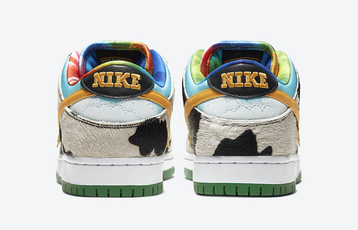 Ben & Jerry Nike SB Dunk Low Chunky Dunky Green Multi CU3244-100 05