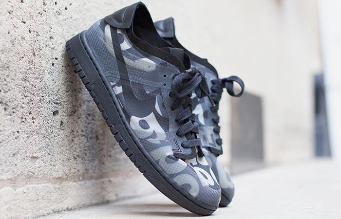 Comme des Garcons Nike Dunk Low Print Black Ash CZ2675-001 02