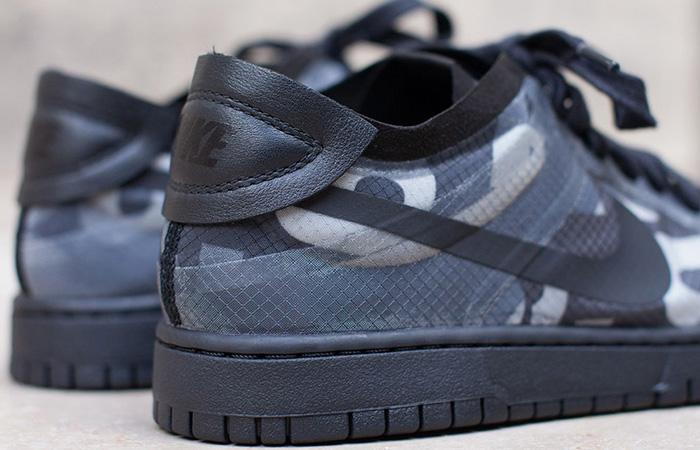 Comme des Garcons Nike Dunk Low Print Black Ash CZ2675-001 03