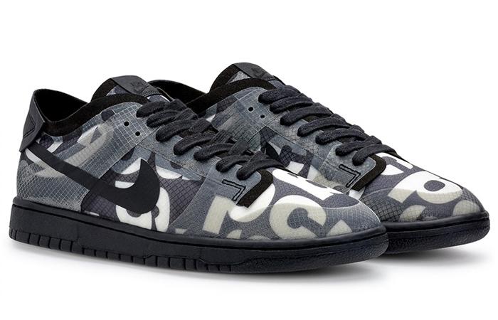 Comme des Garcons Nike Dunk Low Print Black Ash CZ2675-001 04