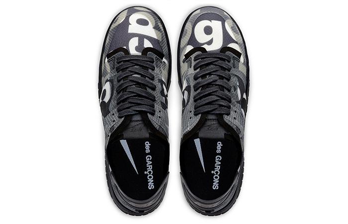 Comme des Garcons Nike Dunk Low Print Black Ash CZ2675-001 06