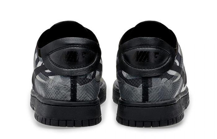Comme des Garcons Nike Dunk Low Print Black Ash CZ2675-001 07