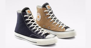 Converse and Carhartt WIP's New Collaboration Chuck 70 Pack Are Crafted From Carhartt Garments 01