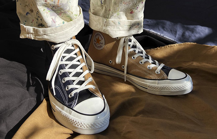 Converse and Carhartt WIP's New Collaboration Chuck 70 Pack Are Crafted From Carhartt Garments ft