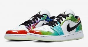 """Here Is The Official Images Of Nike Womens Air Jordan 1 Low """"Galaxy"""" 02"""