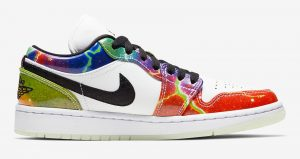 """Here Is The Official Images Of Nike Womens Air Jordan 1 Low """"Galaxy"""" 03"""