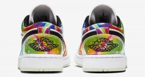 """Here Is The Official Images Of Nike Womens Air Jordan 1 Low """"Galaxy"""" 05"""