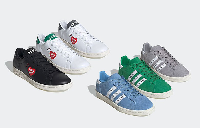 Human Made And adidas Equiped An Expansive Stan Smith And Campus Capsule ft