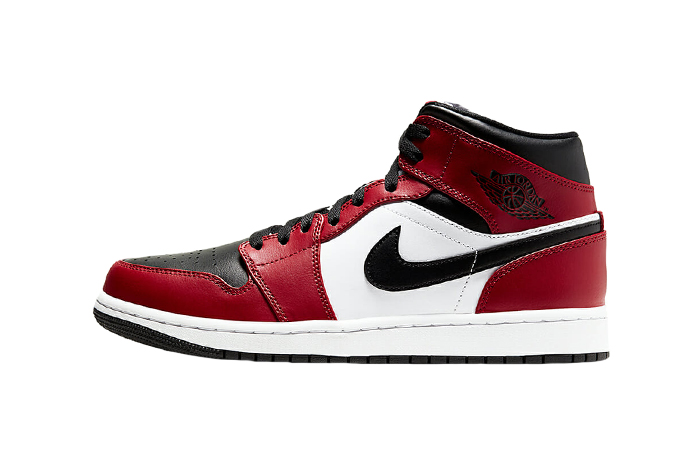 Jordan 1 Mid Chicago Red Black Toe 554724-069 01